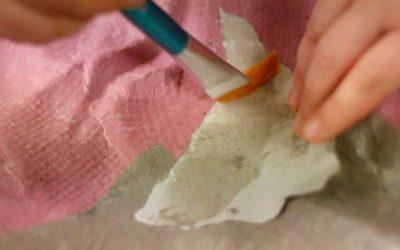 """""""Nuevos materiales basados en el papel maché I"""""""